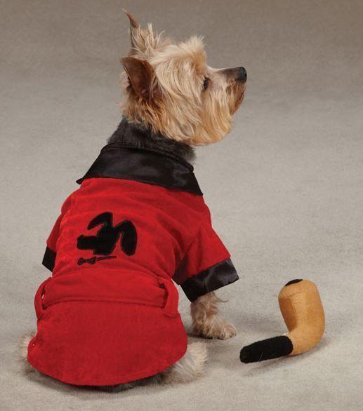 dog smoking jacket party hounds halloween costume xsxl