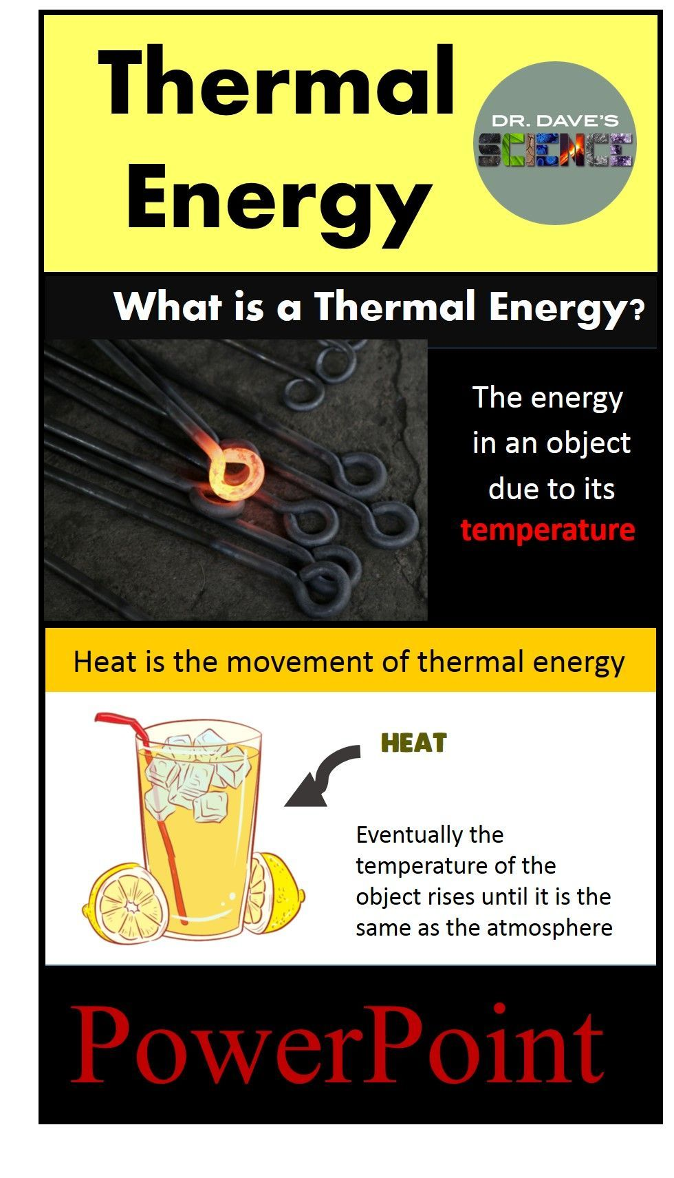 Thermal Energy PowerPoint Physical Science Thermal