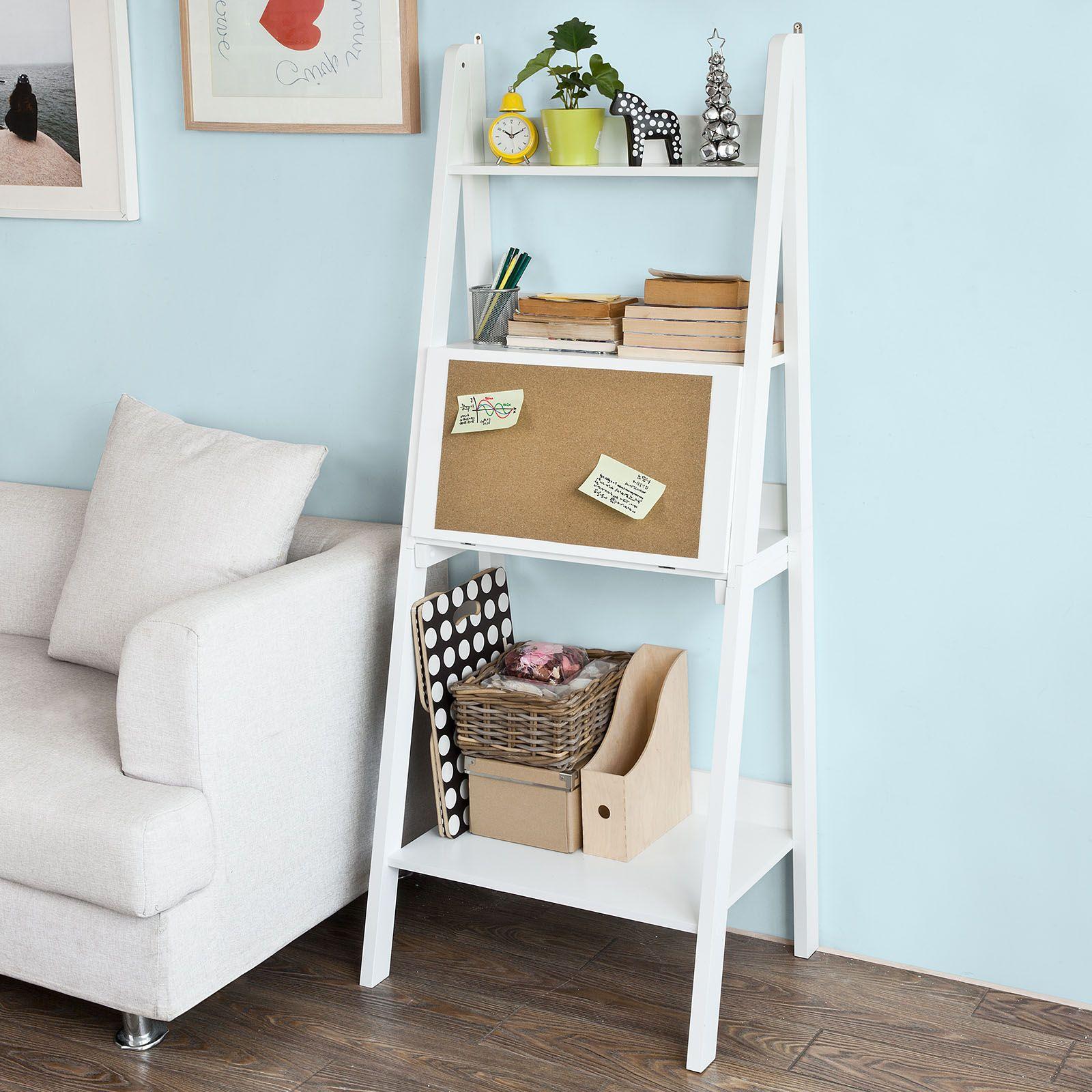 Scala Per Libreria Ikea libreria scaffale a scala libreria a scala bianco frg115-w