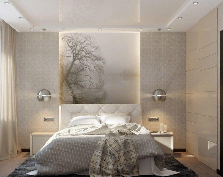 Licht Schlafzimmer ~ Beleuchtung im schlafzimmer deckenspots pendelleuchten led