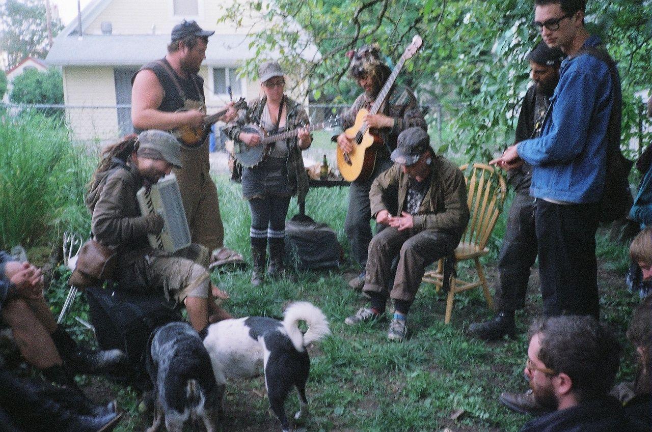 Portland Crust Punk Folk Fifteenth