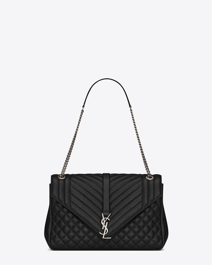 c6c085c6a2 Saint Laurent Monogram Envelope Bag  discover the selection and shop online  on YSL.com