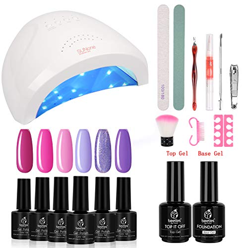 Enjoy Diy As Gel Nail Polish Kit With Uv Gentle You Possibly Can Get Pleasure From Doing All Your Nails At Re Gel Nail Kit Nail Essentials Gel Nail Polish Set