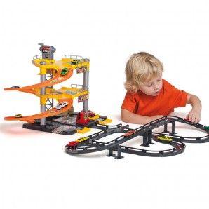 Parking Infantil con 3 Plantas + Tracks. Juguetes Molto