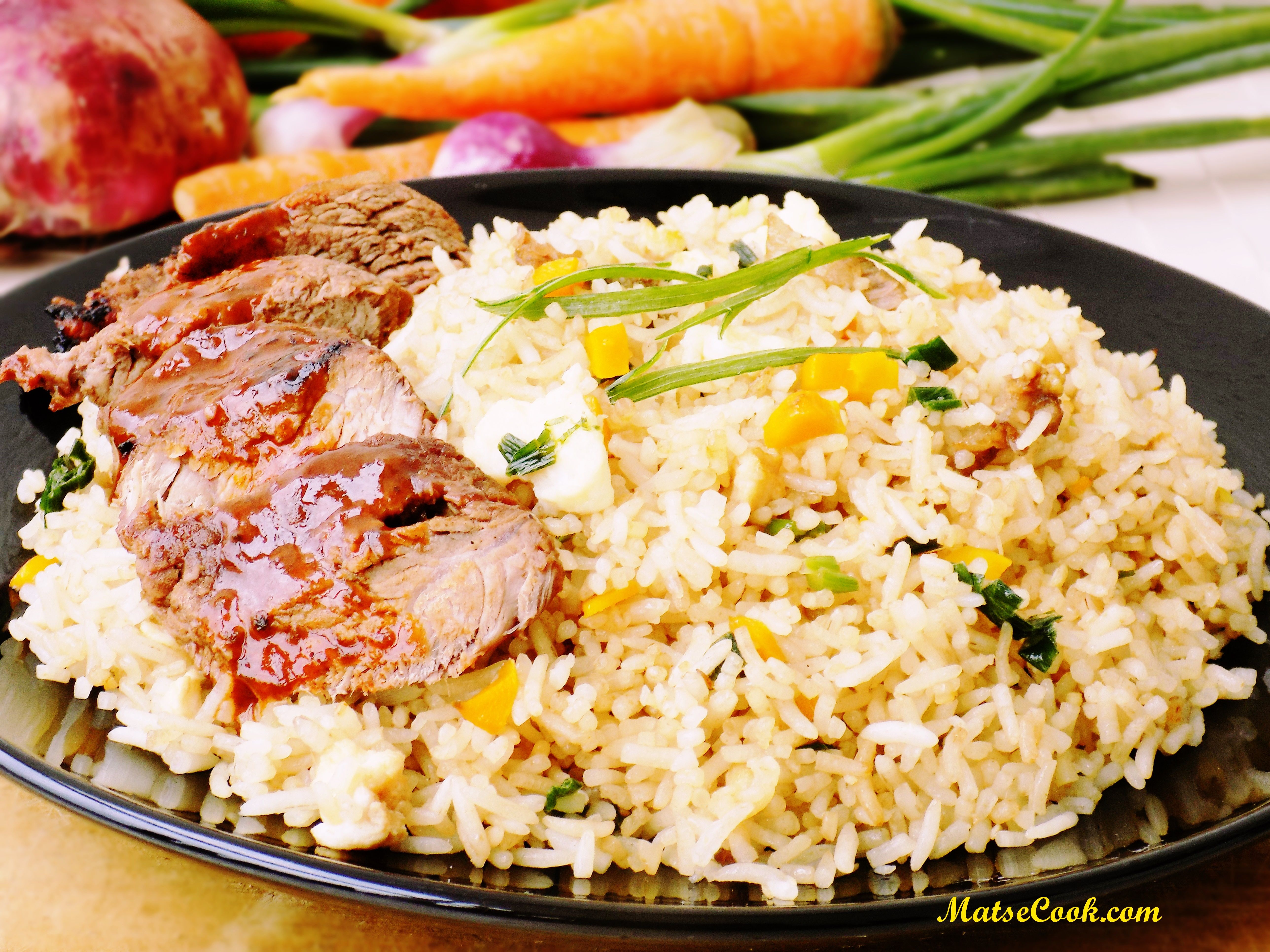 The easy basmati fried rice whats for lunchdinner pinterest the easy basmati fried rice ccuart Images