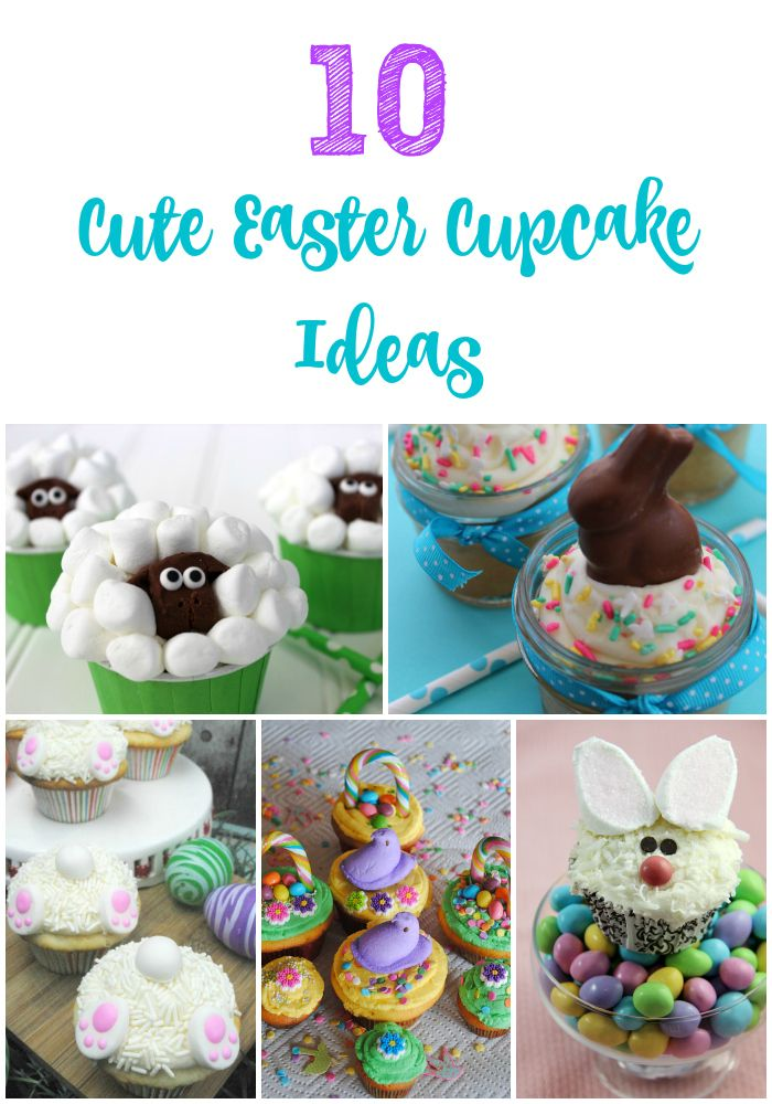 These cute Easter cupcakes are almost as fun to make as they are to eat!
