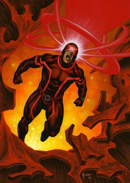 Cyclops Art by Joe Jusko