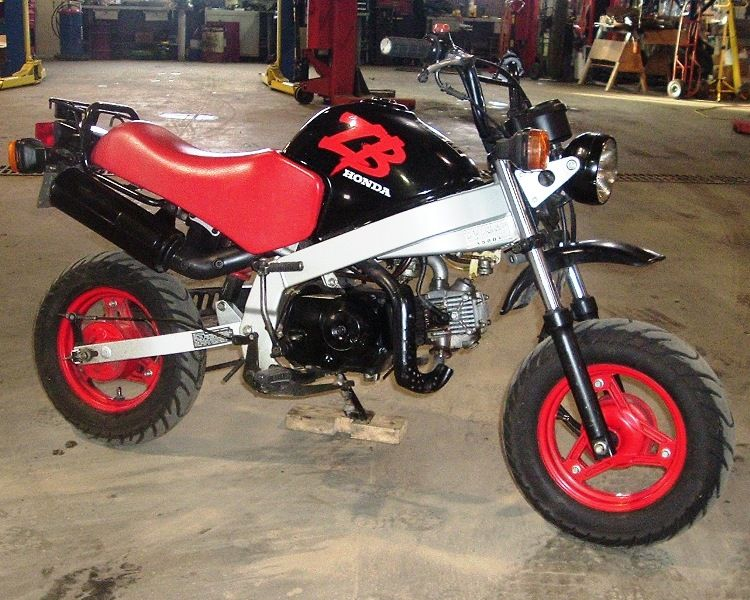 1988 honda zb50 imported into the us 1 year motorcycles. Black Bedroom Furniture Sets. Home Design Ideas