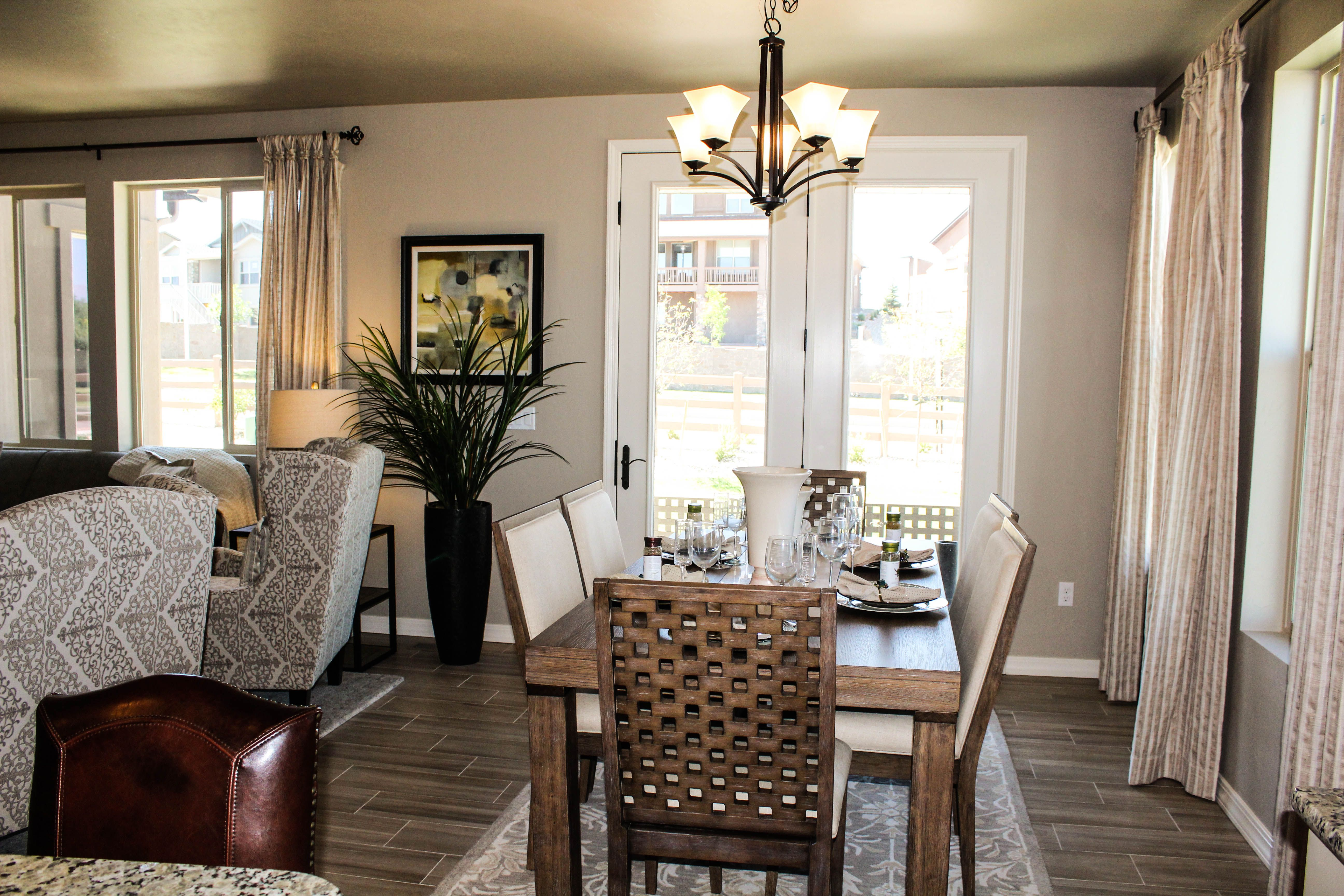 Telluride Model In The Village Of Molise Dining Classic House