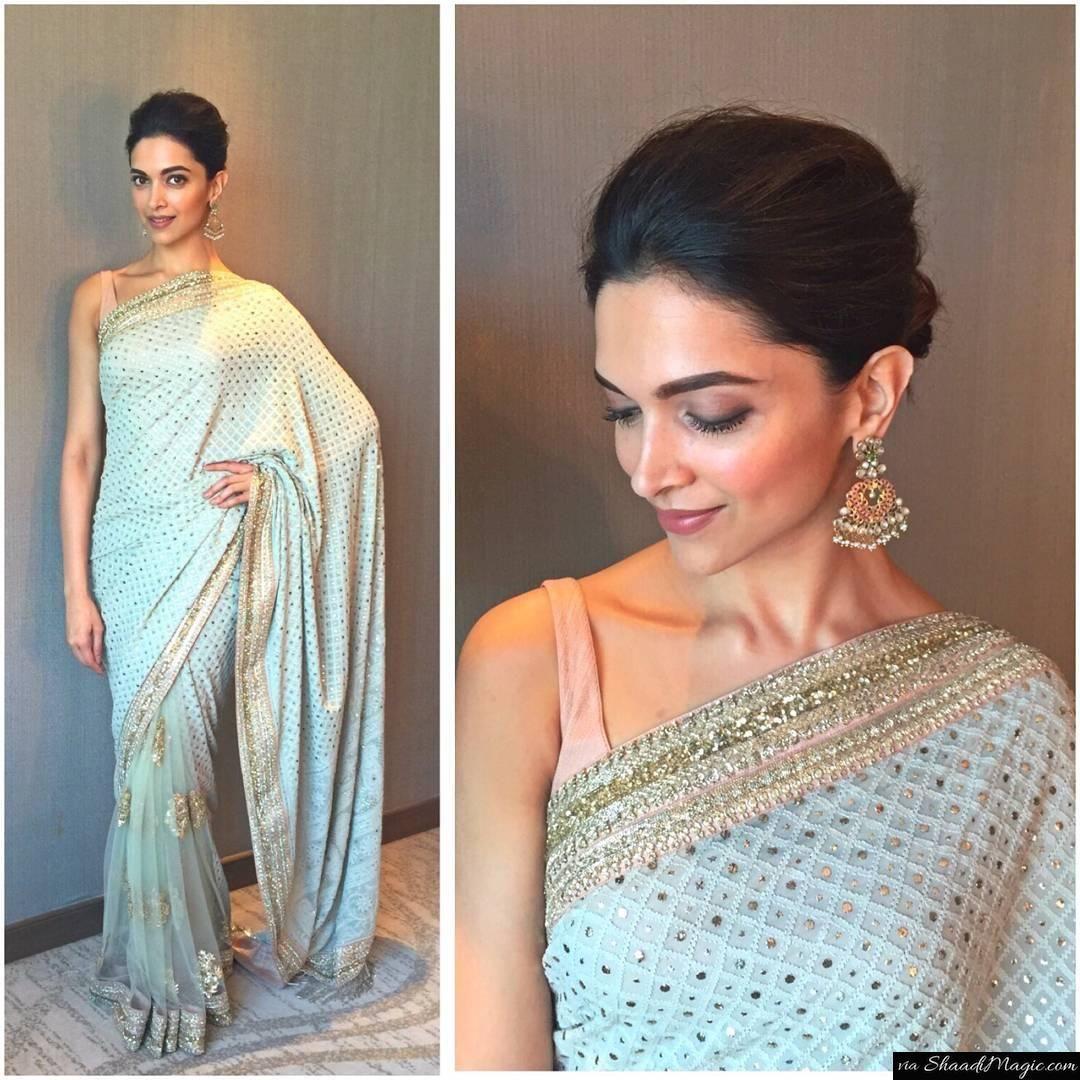 10 Wedding Outfit Goals Deepika Gave Us Shaadi Magic Bollywood Designer Sarees Deepika Padukone Saree Saree Designs