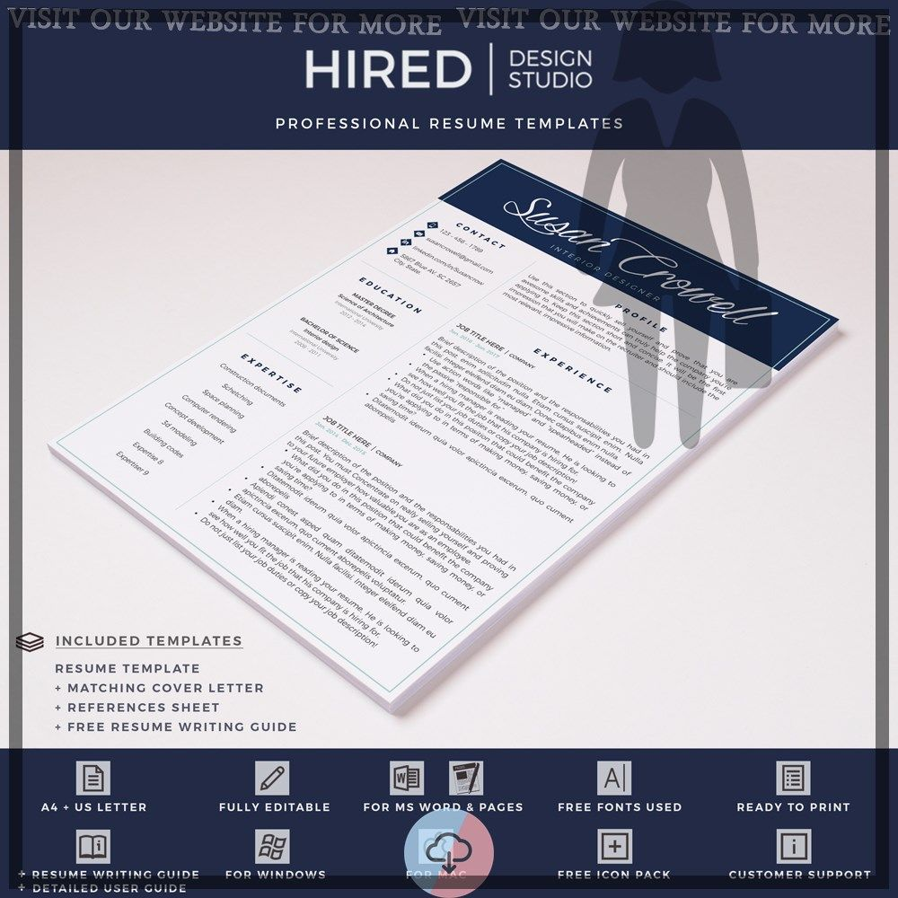 20+ Exceptional resume template free downloadable mac in