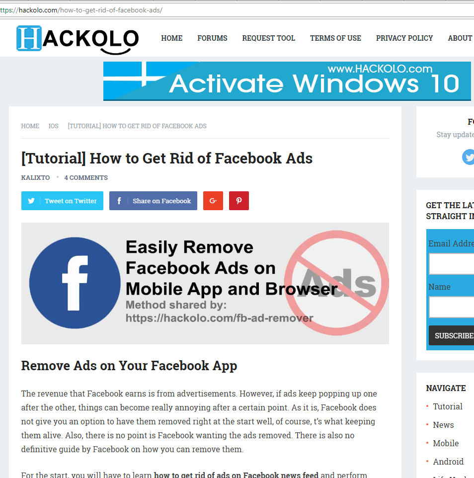 How to get rid of ads in the browser