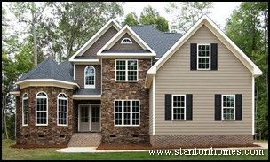 ranch style homes with stone exteriors | Top 7 New Home Exterior ...