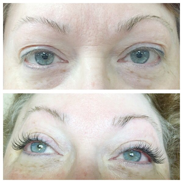 Super Short And Straight Lashes Totally Transformed