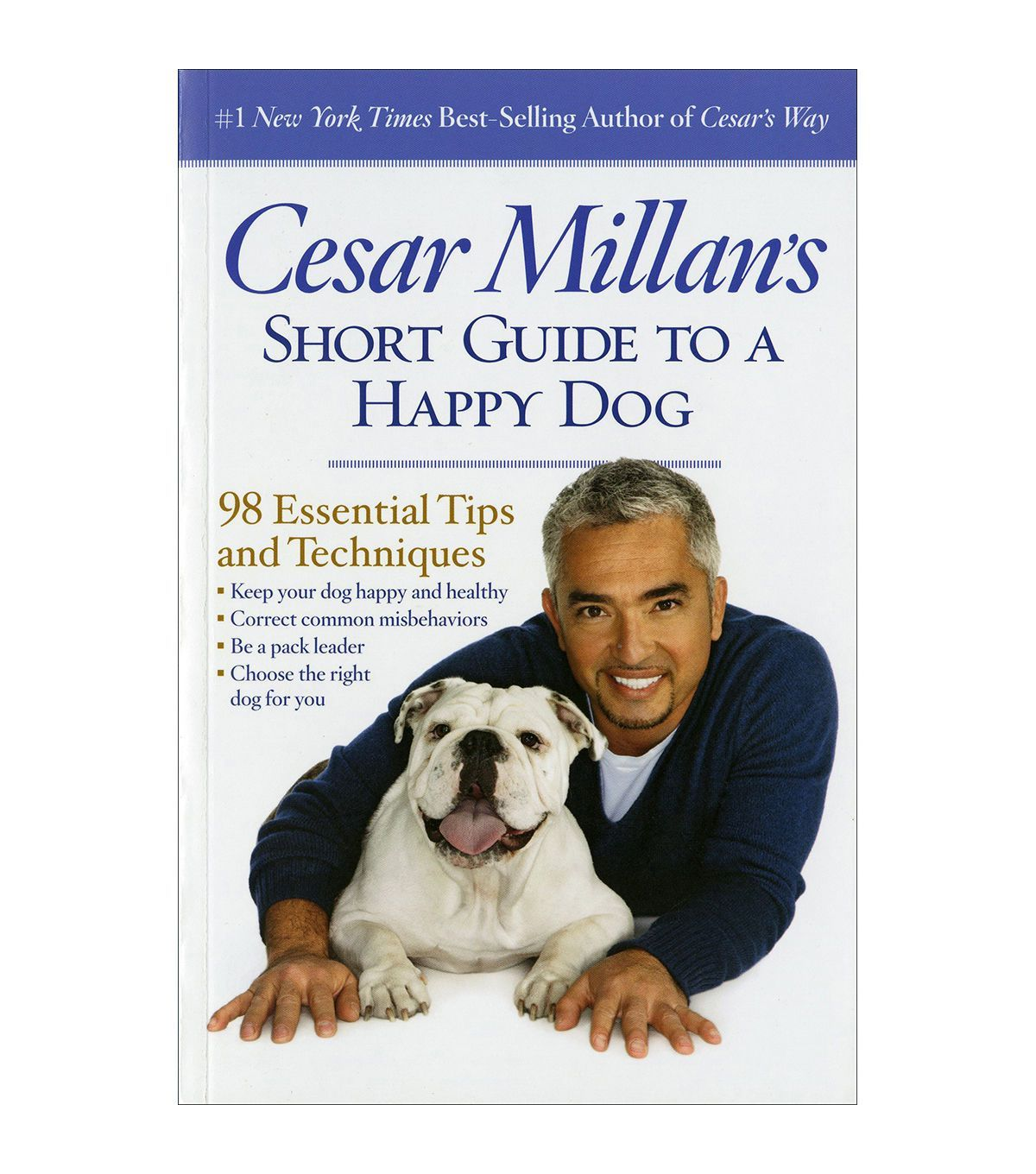 Cesar Millan Short Guide To A Happy Dog Book Happy Dogs Cesar
