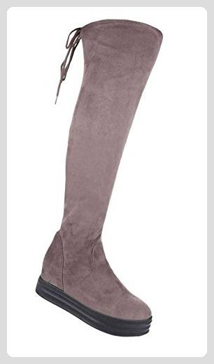 Damen Overknee Stiefel | Frauen Stiefel kniehohe Stiefel
