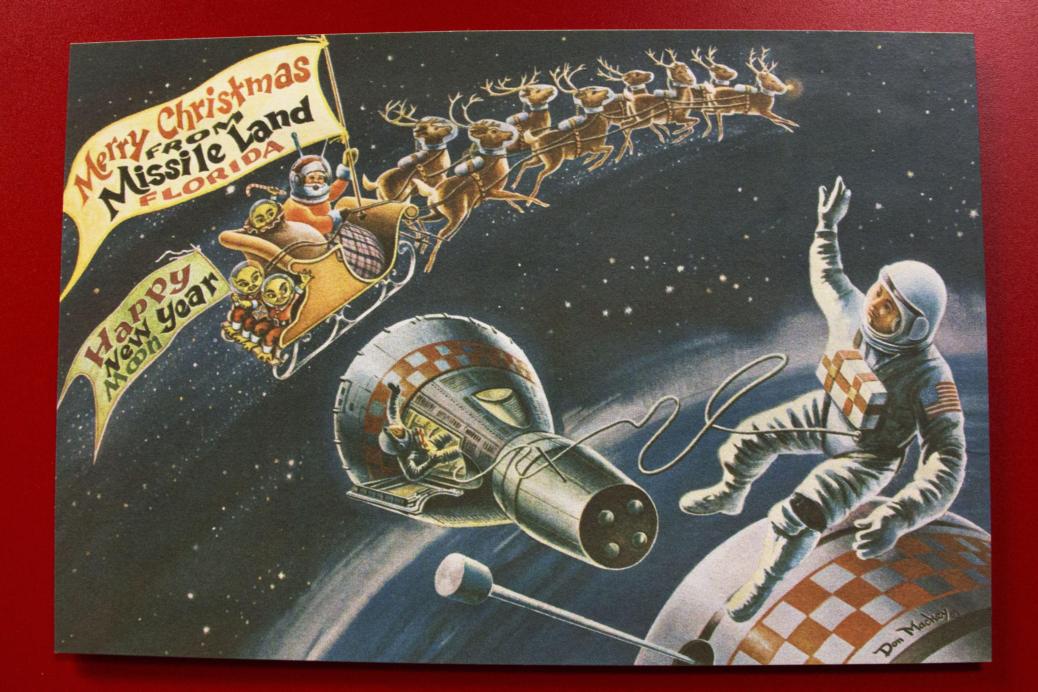 vintage mailman christmas Google Search Christmas card