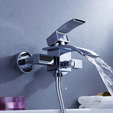contemporaine robinet de baignoire cascade mural – EUR € 94 87