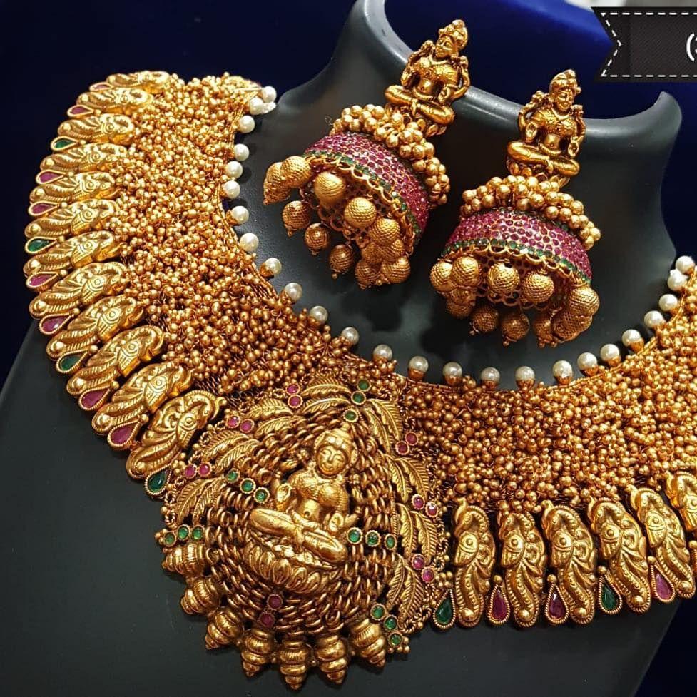 No photo description available. Antique jewelry indian
