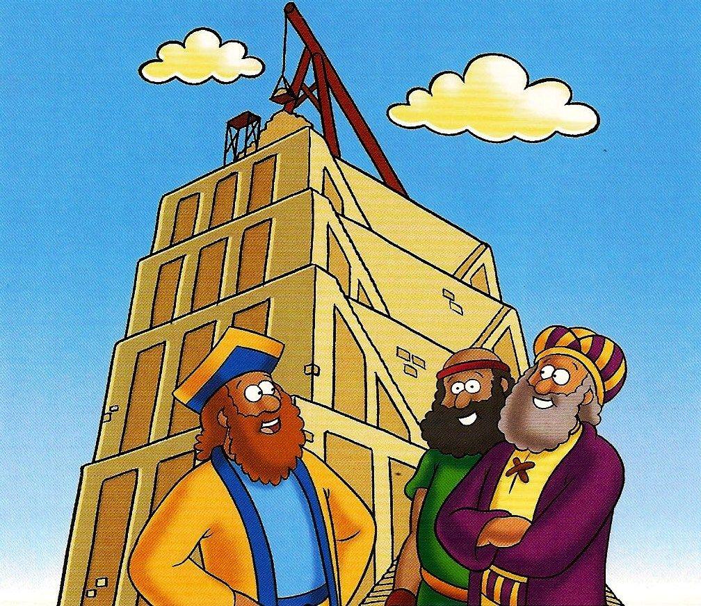 A Torre De Babel Objetivo Ensinar A Crianca Que O Orgulho E