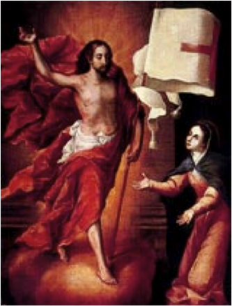 La pascua de María. Juan Correa. Siglo XVIII