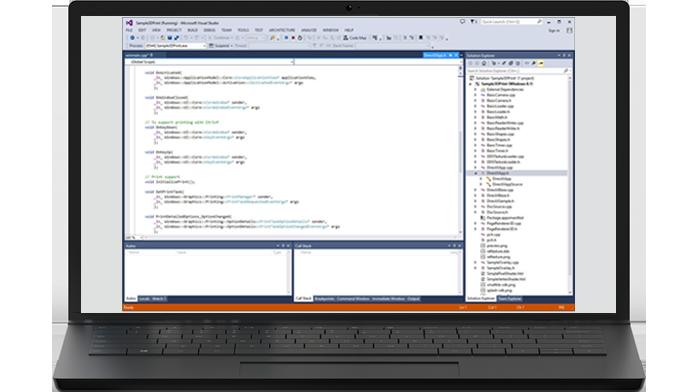 SDK Windows 10 laptop Scan app