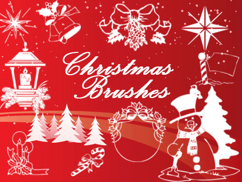 christmas photoshop brushes  christmas photoshop brushes | 12403 Web Design | Pinterest | Photoshop