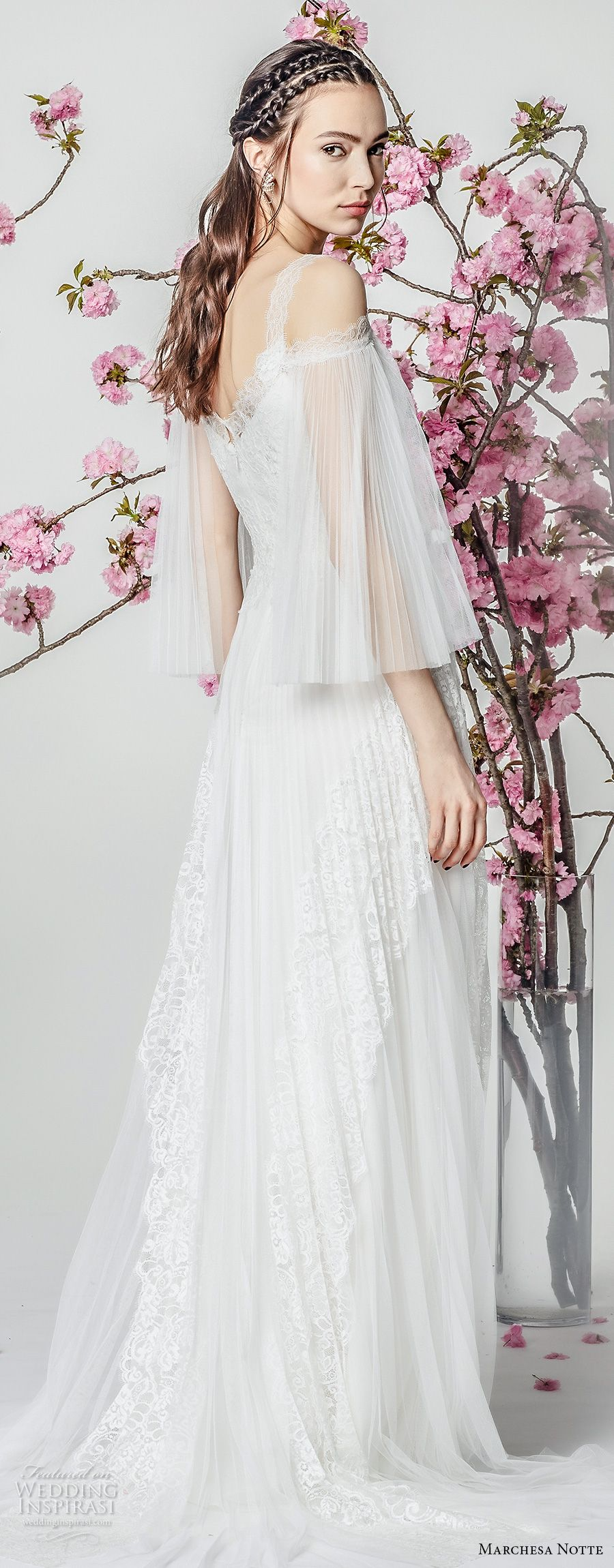 Marchesa notte spring wedding dresses romantic marchesa and