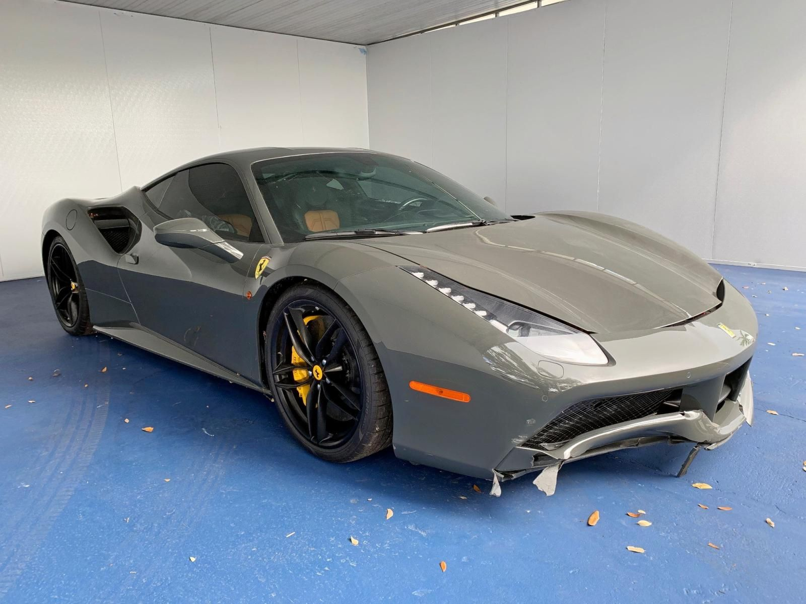Salvage 2018 FERRARI 488 for Sale in New Jersey