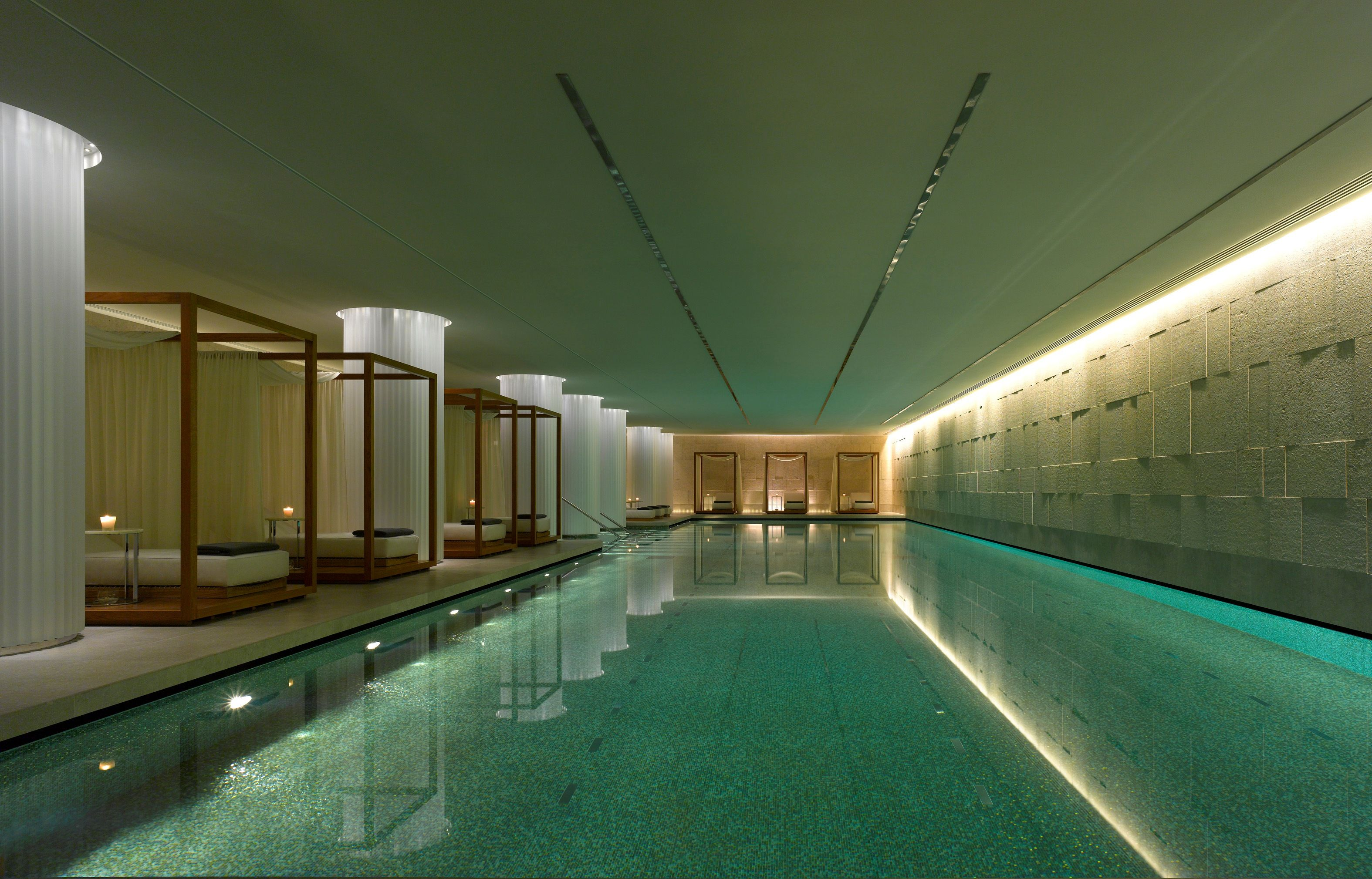 Bulgari Spa at Bulgari Hotel | Bulgari hotel london, Indoor ...