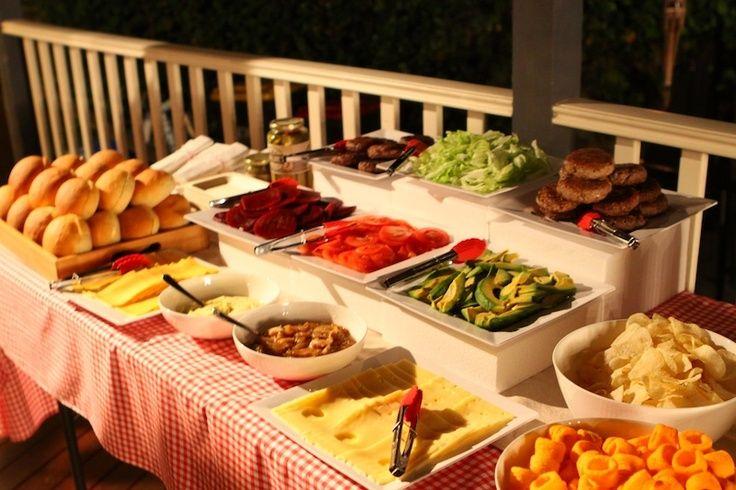 Gourmet burger bar buscar con google cumples for Food bar party