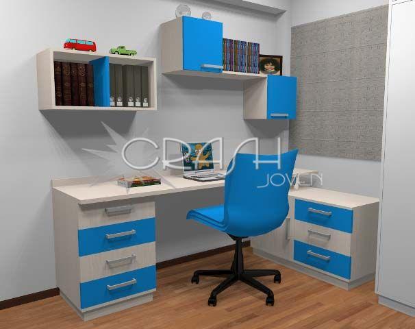 Amoblamientos juveniles dormitorios juveniles - Dormitorios juveniles minimalistas ...