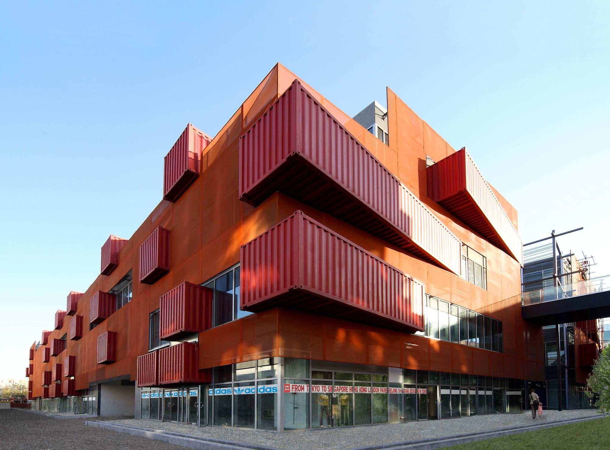 Tiny Home Designs: Sanlitun South / LOT-EK Architecture & Design