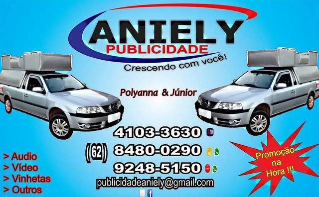 Eu recomendo Aniely Publicidade- Colina Azul, #Aparecida de Goiânia, #Goiás, #Brasil