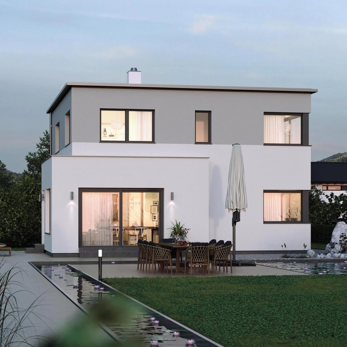 Neubau Einfamilienhaus Flachdach: Wohnhauserweiterung Neubau Holzhaus Modern Was Wir Bauen