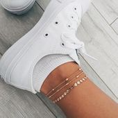 Photo of #3Pcs4PcsLot #ANKLET #Anklets #Bracelet #Chain #Charm