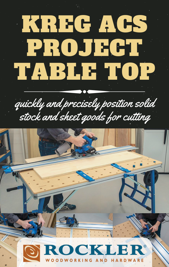 Kreg Acs Project Table Top Project Table Table Top Rockler Woodworking