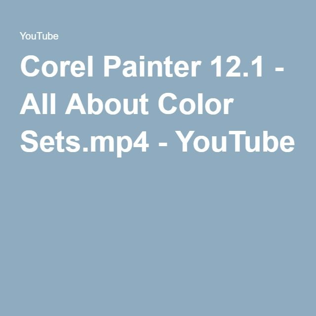 Corel painter x for photographers tutorial 1 youtube.