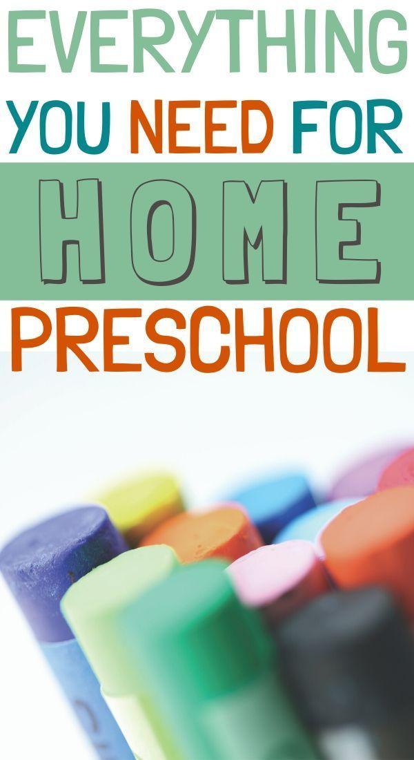 Photo of Preschool Homeschool Supplies that You Need – Two Pine Adventure
