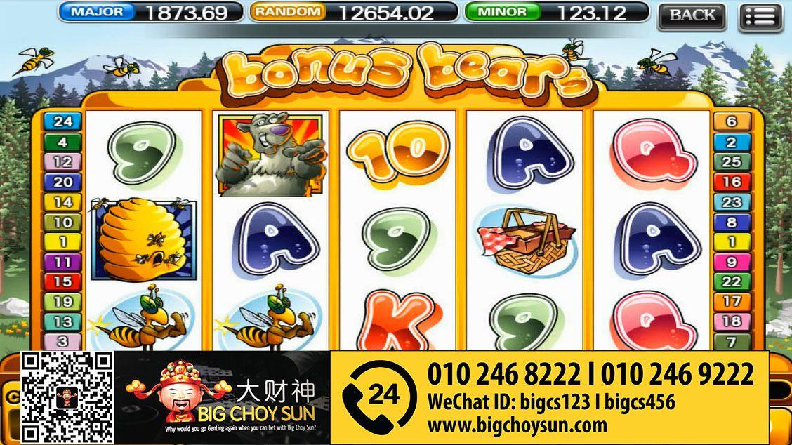 BONUS in BONUS BEARS online slot SCR888 Bigchoysun