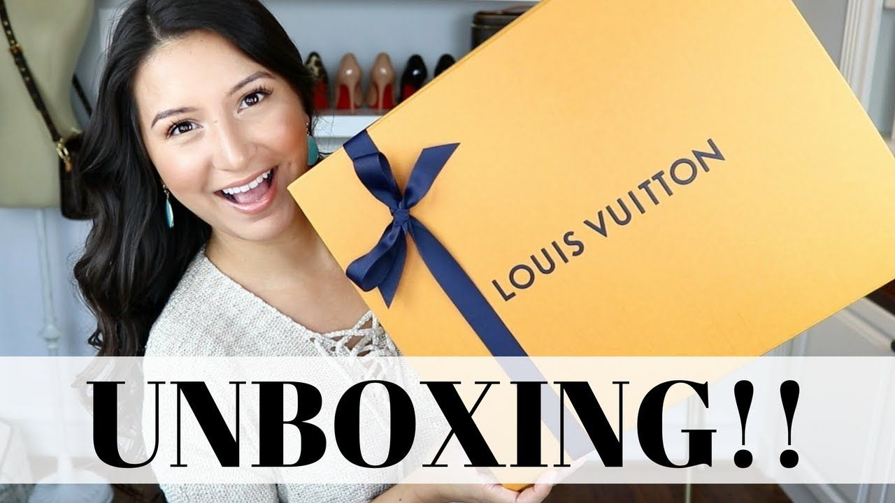 01f70f7c47ae LOUIS VUTTON UNBOXING