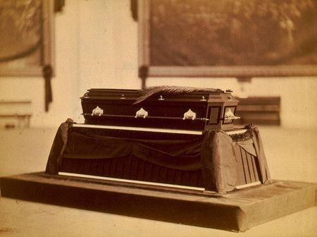 Free Photo: Remains of President Garfield