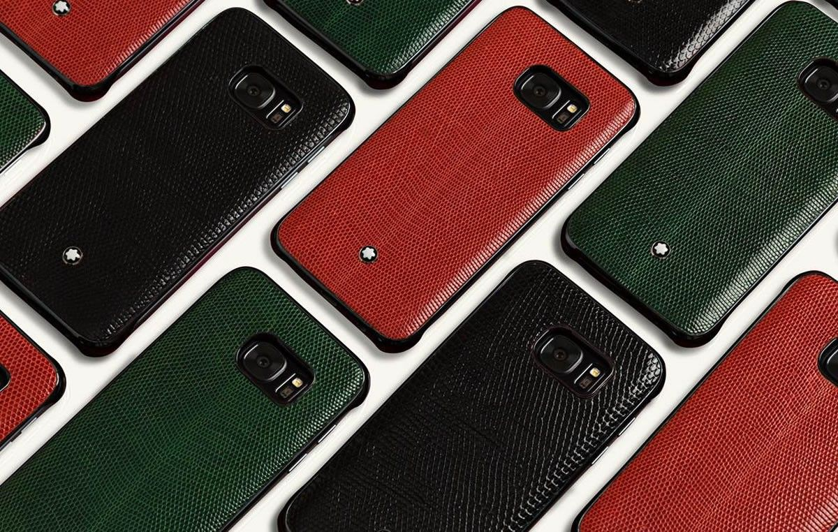 Mobili blanc ~ Mont blanc releases fine leather covers for the samsung galaxy s7