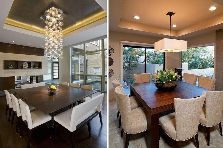 Tipos de mesas de comedor en la decoraci n casa en - Decoracion de comedor moderno ...