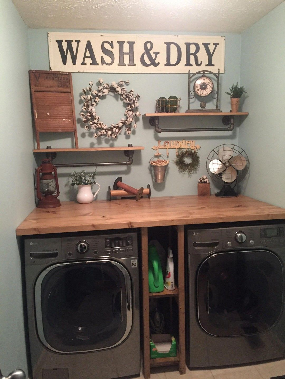 Photo of 22 Farmhouse Laundry Room Design