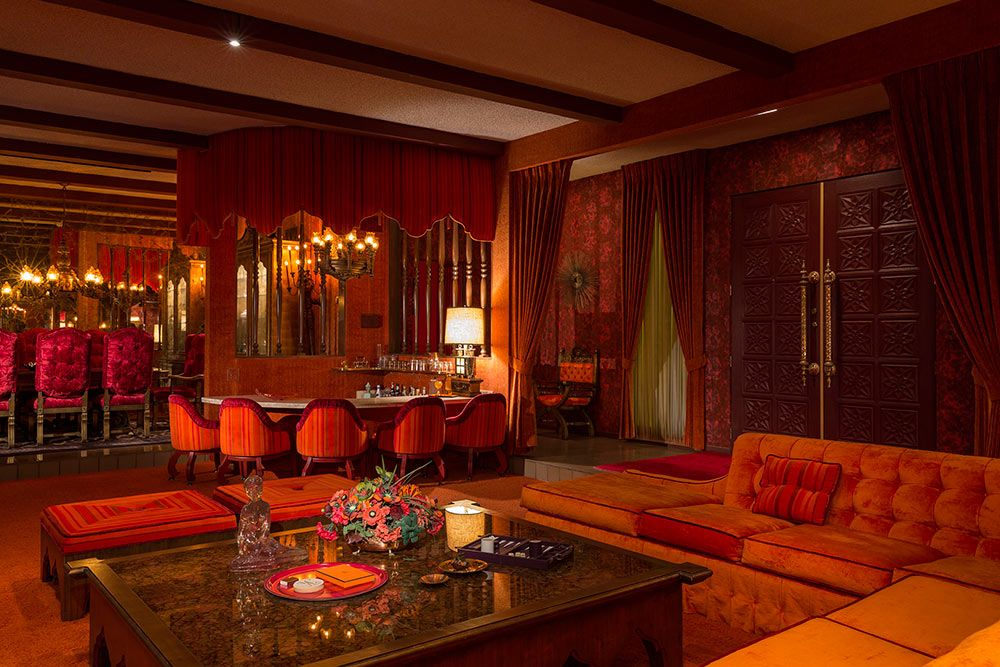 Adee Do Indeed The 1969 Interiors In Palm Springs
