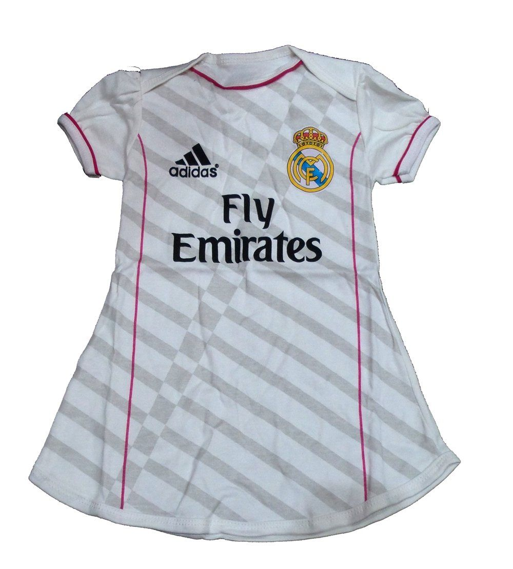 2519f33ac2d34 Baby Soccer Clothes Baby Girls Dress 4-8 months (Real Madrid Home ...
