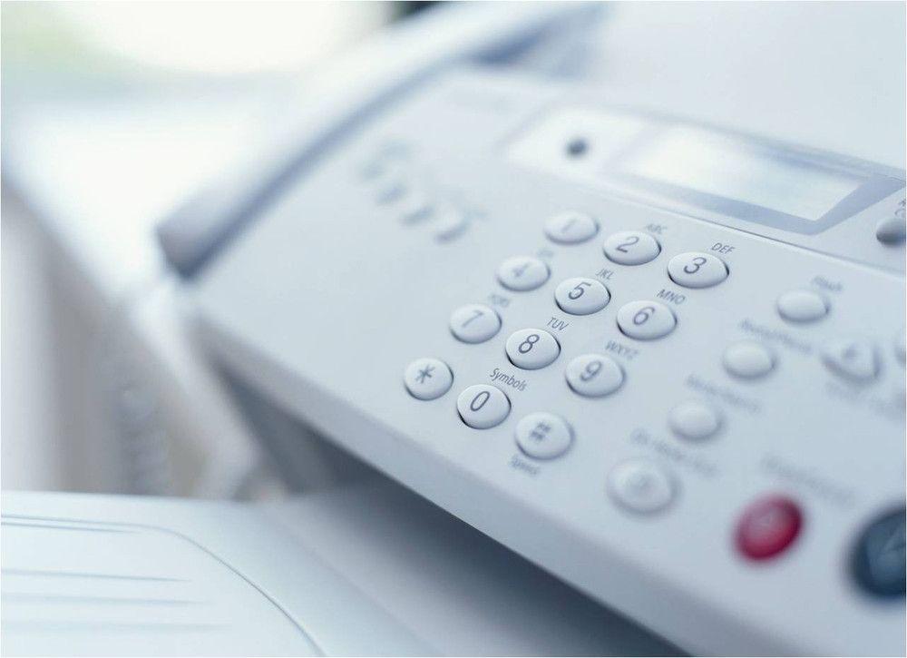 Fax machine repair and maintenance clear choice