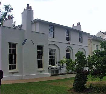 White Georgian House
