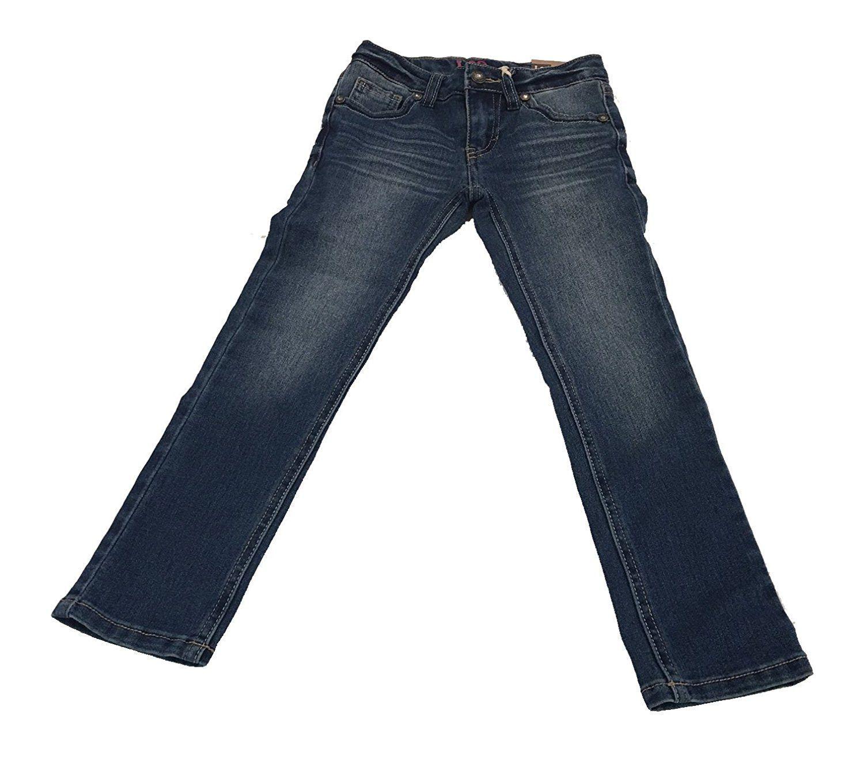 Lee Girls Size 5 Super Stretch & Adjustable Waist Skinny Leg Jeans, Denim